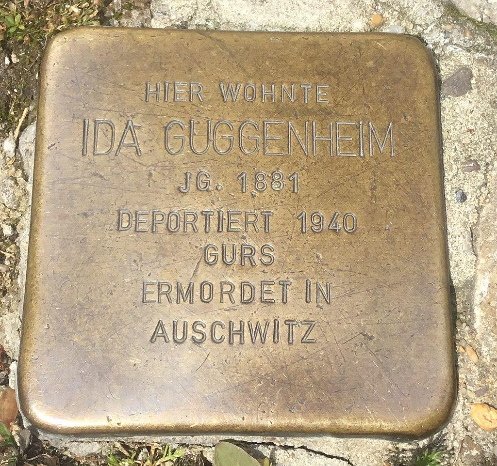 Stolperstein Ida Guggenheim.jpg
