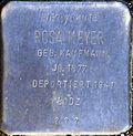 Stumbling block for Rosa Meyer (Alexianerstraße 34)