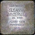 Stolperstein Salzburg, Susanna Winternitz (Kapuzinerberg 5).jpg