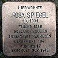 Stolperstein Warendorf Schützenstraße 17 Rosa Spiegel.jpg