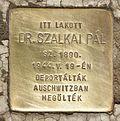 Stolperstein für Dr. Pál Szalkai.JPG