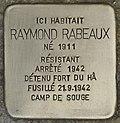 Stolperstein für Raymond Rabeaux (Begles).jpg