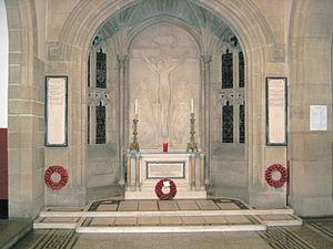 Gilbert Ledward - Ledward's War Memorial at Stonyhurst