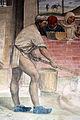 Storie di s. benedetto, 32 sodoma - Come Benedetto appare a due monaci lontani e loro disegna la costruzione di uno monastero 05.JPG