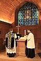 Strasbourg crypte de la cathédrale Notre Dame messe de Requiem 2013 07.JPG