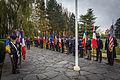Strasbourg nécropole nationale de Cronenbourg cérémonie 1er novembre 2013 28.jpg