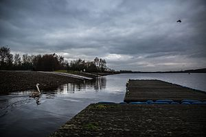 Strathclyde Country Park - A gloomy day at Strathclyde Park