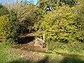 Stream through gateway near Wastor - geograph.org.uk - 274230.jpg