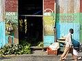Street Scene with Pedestrian - Puerto Plata - Dominican Republic.jpg