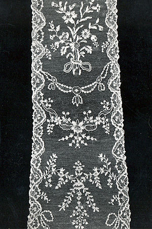 Alençon lace - Alençon needle lace (1760-1775), MoMu-collection, Antwerp