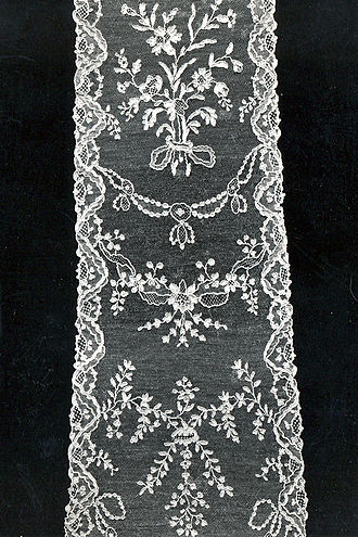 Alençon lace - Alençon needle lace (1760-1775), MoMu-collection, Antwerp