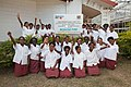 Students from Caritas Technical Secondary School, East Boroko, PNG. (10726058906).jpg