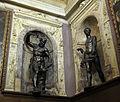 Studiolo, sculture, vulcano di vincenzo de' rossi e plutone di domenico poggini.JPG