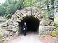 Studley Royal - Serpentine Tunnel Upper Entrance - geograph.org.uk - 1006274.jpg