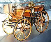 Chariot moteur Daimler