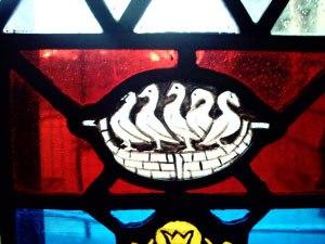 Werburgh - St Werburgh's pilgrimage badge