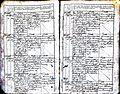 Subačiaus RKB 1827-1830 krikšto metrikų knyga 014.jpg