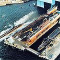 Submarines 1979 while launching.jpg