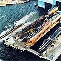 Submarines 1979 while launching.jpg