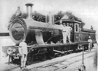South African Class 7A 4-8-0 - Sudan Dongola Class 4-8-0, c. 1898