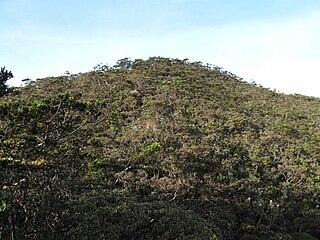 Mount Tambuyukon mountain in Malaysia
