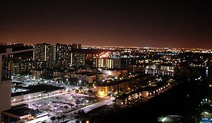 Sunny Isles Beach, Florida - City of Sunny Isles Beach by night