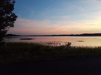 Machipongo River - Sunset along the Machipongo, July 2018