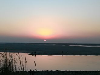 Sialkot District - Sunset at Head Marala