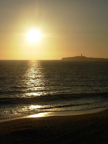 File:Sunset in Northern California.JPG