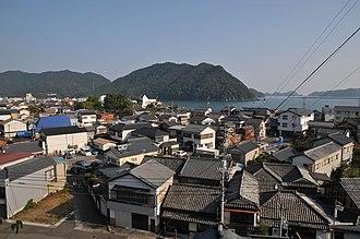 Susaki, Kōchi - Image: Susaki city view