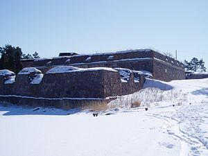Svartholm fortress - Image: Svartholma tenalji