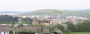 Svidník - Panorama of Svidník