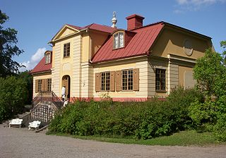 is the well-preserved 18th century country residence was built in the 1740s, today belongs to the Nordic Museum.