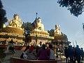 Swambhunath Stupa Golden Idols.jpg
