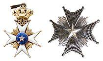 Sweden Order of the North Star.JPG