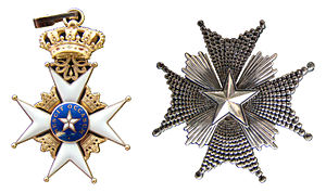 Order of the Polar Star - Image: Sweden Order of the North Star