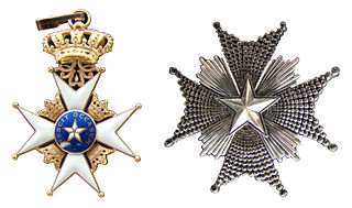 Swedish order of chivalry