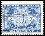 Switzerland Geneva 1931 revenue C3 1Fr - 24A.jpg