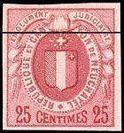 Switzerland Neuchâtel 1879 revenue S 25 - S2.jpg