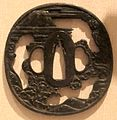 Swordguard (tsuba), Japan, Edo period, 18th-19th century, iron, HAA.JPG