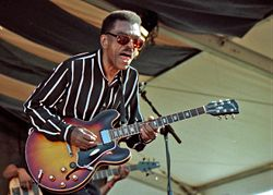 Syl Johnson at the New Orleans Jazz & Heritage Festival, 1997