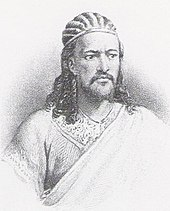 Tewodros II, around 1860