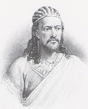 Ethiopian Empire - Emperor Tewodros II's rise to the throne marked the end of the Zemene Mesafint.