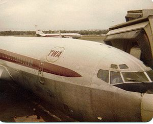 TWA airplane. This was in Pittsburgh around 1978.