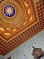TW 台北 Taipei 中正紀念堂 Chiang Kai-Shek Memorial Hall - sculpture n ceiling ROC logo Feb-2013.JPG