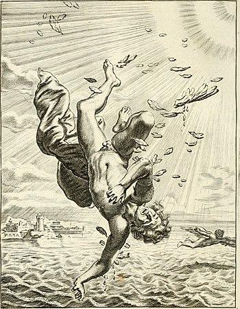 Tableaux du temple des muses - tirez du cabinet de feu mr. Favereau...gravez en tailles-douces par les meilleurs maistres de son temps, pour representer les vertus and les vices, sur les plus (14561090118)