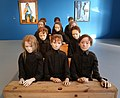 Tadeusz kantor, children at their desk from the dead class, 1975 (coll. cricoteka, cracovia) 02.jpg