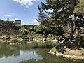 Takueichi Pond in Shukkei Garden 11.jpg