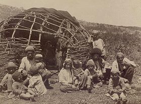 Talysh people near their house.jpg