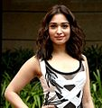 Tamannaah at the first look launch of 'Bahubali 2 The Conclusion' at MAMI 18th Mumbai Film Festival (cropped).jpg